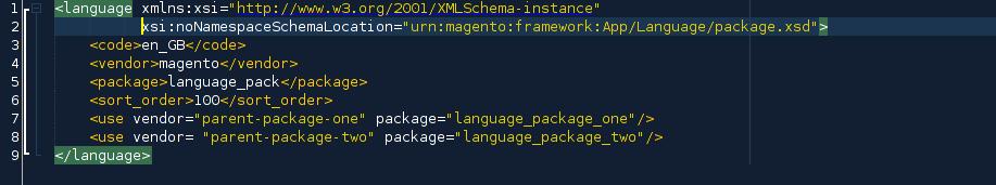 language.xml-file